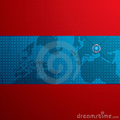 Elegant futuristic abstract background