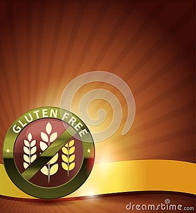 Elegant gluten free card