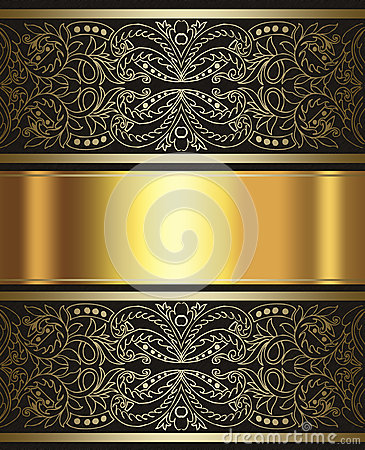 Elegant Gold And Brown Background Royalty Free Stock ...