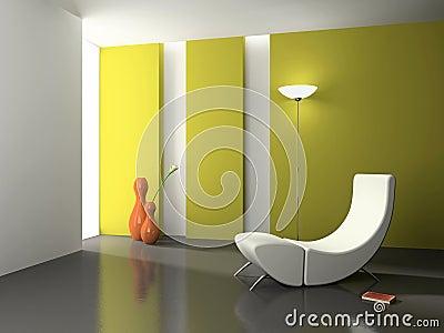 Elegant interior 3D