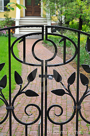 Elegant Iron Gate