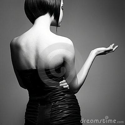 Free Elegant Lady With Stylish Hairstyle Royalty Free Stock Photo - 12255525