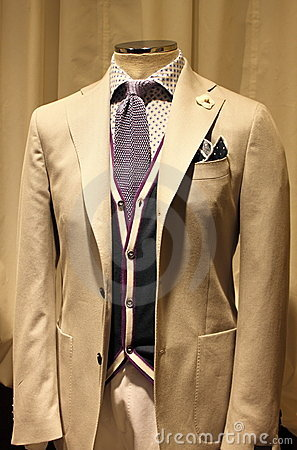Elegant men suit