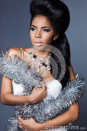 Free Elegant Mulatto Girl Royalty Free Stock Photos - 98147318