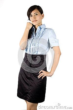 Elegant office lady