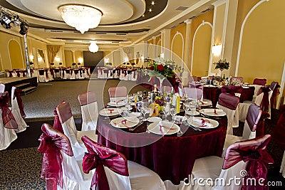 Elegant party hall