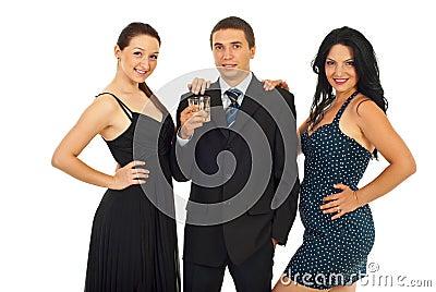 Elegant party people