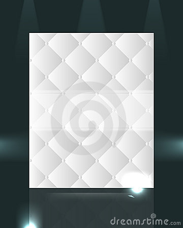 Elegant pattern design isolated on dark background
