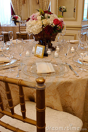 An elegant place setting