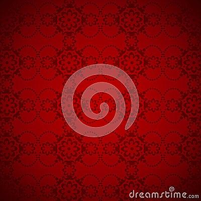 Elegant red background pattern