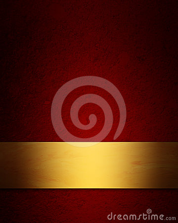 Elegant red and gold Christmas background