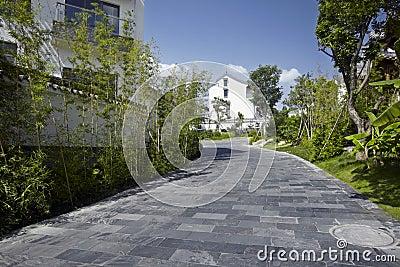 Elegant residential district