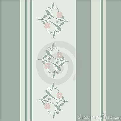 Elegant retro wallpaper pattern