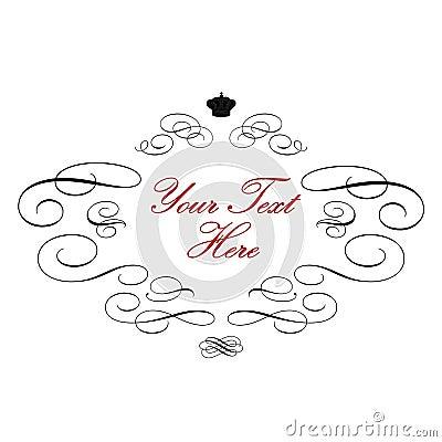 Elegant royal logo