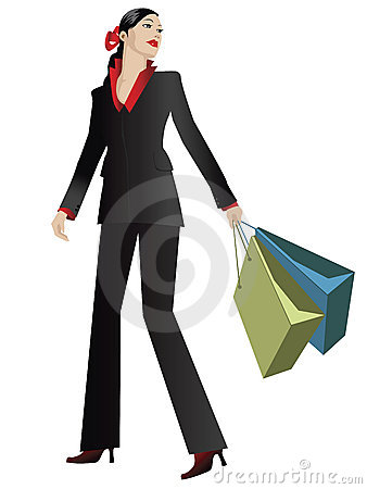 Elegant shopper