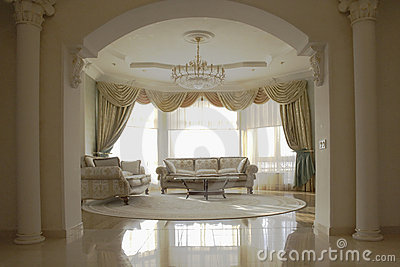 Elegant sitting room