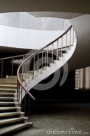 Elegant Spiral Staircase