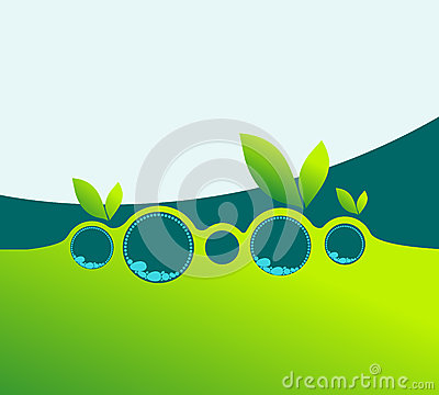 Elegant spring business background