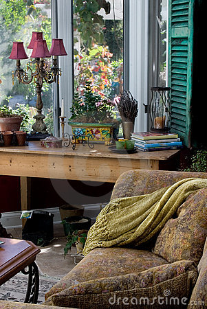 Free Elegant Sun Room Stock Image - 269161