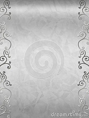 elegant swirl design border stock photo image 5233930