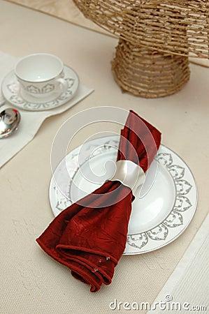 Free Elegant Table Cloth Stock Photography - 4517832