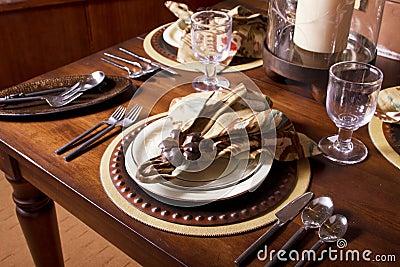 Elegant Table Place Setting