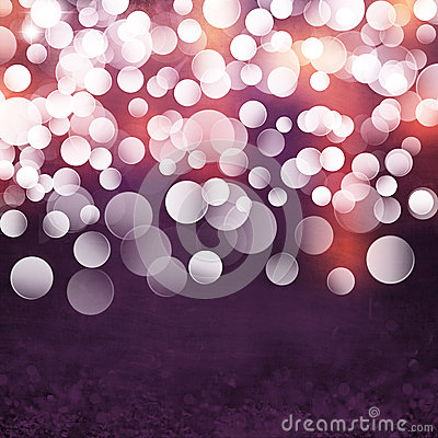 Free Elegant Textured Grunge Purple, Gold, Pink Christmas Light Bokeh Background Royalty Free Stock Image - 25803426