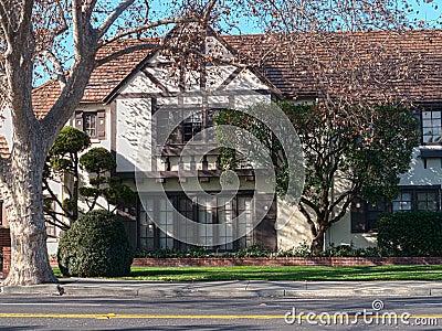 Elegant Tudor style Victorian house