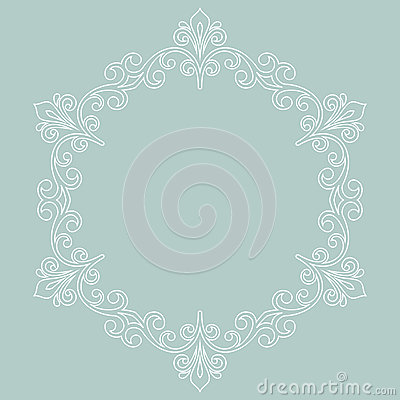Elegant Vector Ornament in Classic Style Vector Illustration