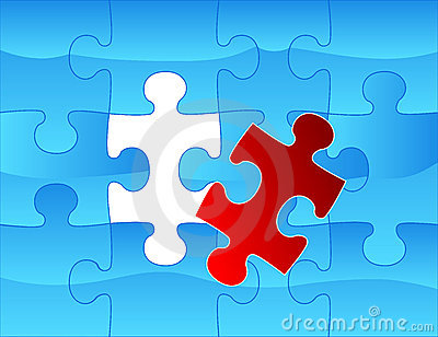 Elegant web2 style puzzle background