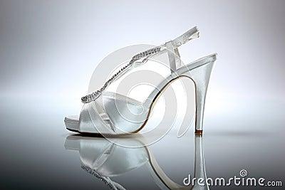 Elegant wedding shoe