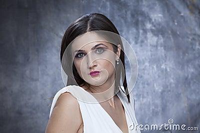 Elegant woman posing