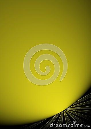 Elegant yellow