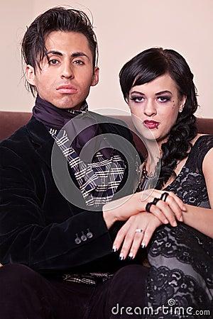 Elegante Paare