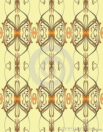 Elegante weinlese nahtloses tapeten muster stockfotos for Elegante tapeten