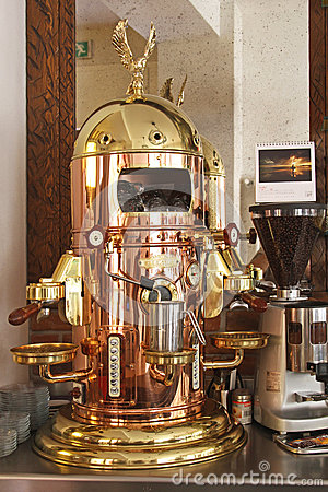 Elektra Coffee Machine Editorial Stock Photo Image 61231383