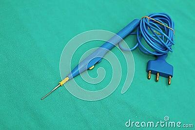 Elektrisk cautery binder med rep