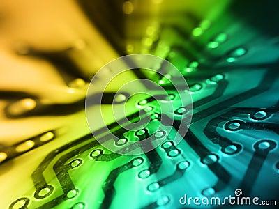 Elektronische PCBraad