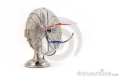 Elektrycznego fan rocznik