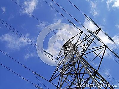 Elektryczność pilonu wieży