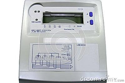 Elektryczny metr