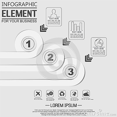 Element For Infographic Chart Template Geometric Figure – Element Chart Template