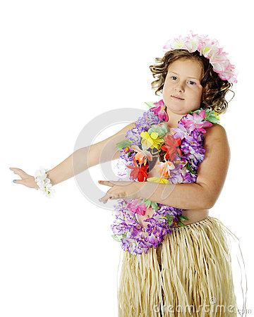 Elementary Hula Dancer