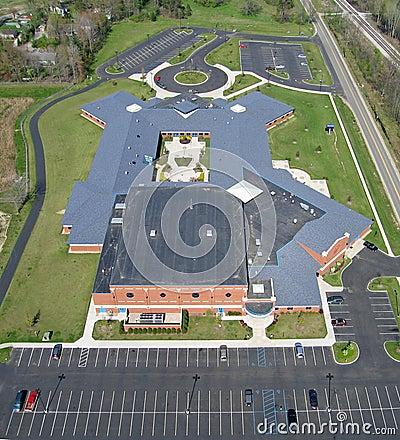 Elementary School Aerial Photo