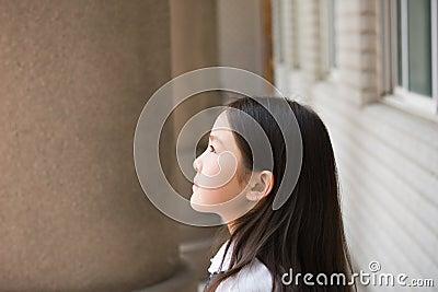 Elementary schoolgirl