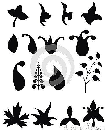 Elementem podstawowym stylu rocznego flor