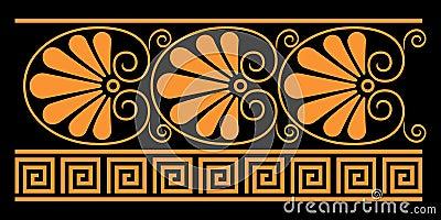 Elementi decorativi del greco antico immagine stock for Greche decorative