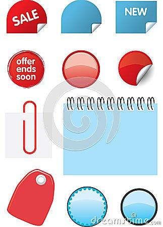 Elementos del diseño del catálogo