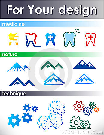 Free Elements For Design. Royalty Free Stock Photos - 9643168