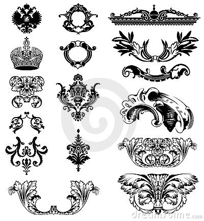 Elements of imperial ornament